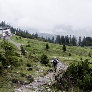 Von der Gaudeamushütte zur Gruttenhütte