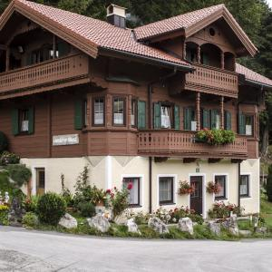 Das Wanderhaus der Pension Maier